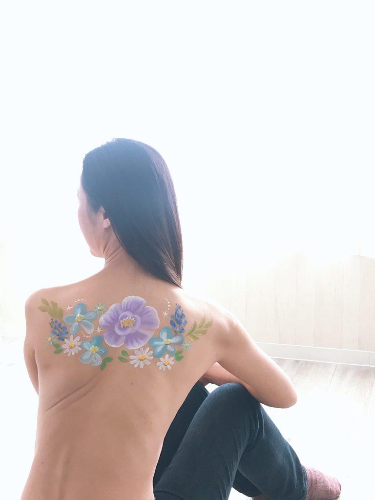 乳がん ボディアートフォトセッション